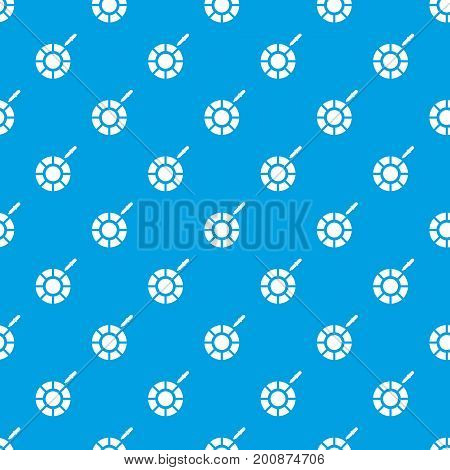 Color picker pattern repeat seamless in blue color for any design. Vector geometric illustration