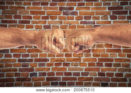 Men's Strong Hands