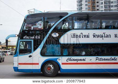 Srithawong Tour Company Bus Route Phitsanulok And Chiangmai