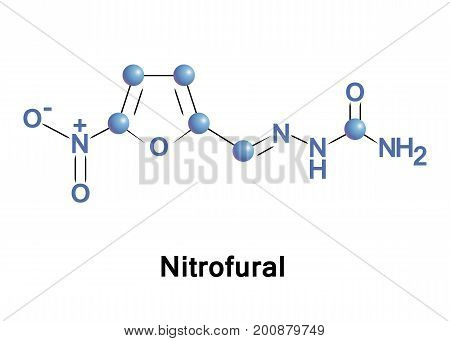 Nitrofural is a bactericidal compound used as an antibiotic most commonly in the form of ointments