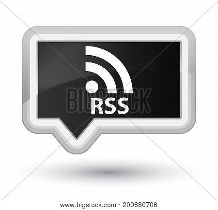 Rss Prime Black Banner Button