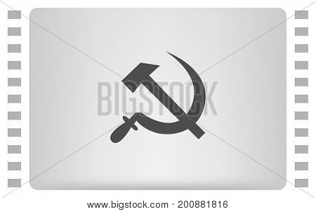 Hammer And Sickle Vector Illustration