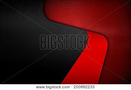 metal pattern with curve design background