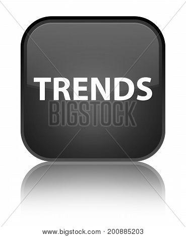 Trends Special Black Square Button