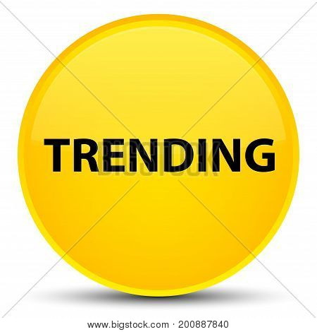 Trending Special Yellow Round Button
