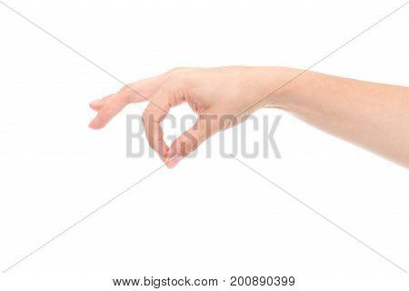 Hand Pretending Holding Keys