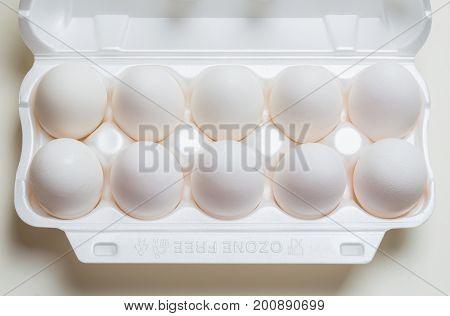 Chicken Eggs In The Cassette Box