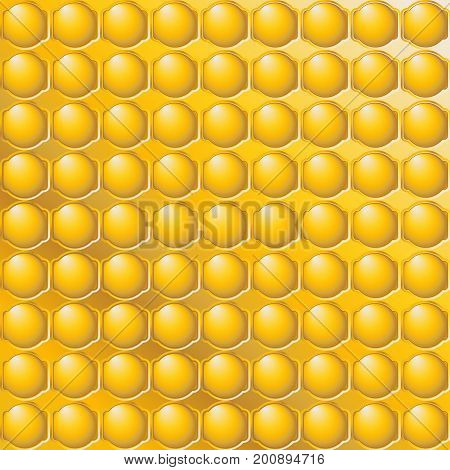 Abstract Honey checkered pattern for - Jewish New Year Greeting card background. Gold Honey geometric pattern vector illustration. Gold texture. Golden background. Yellow color, 3D shapes decorative elements