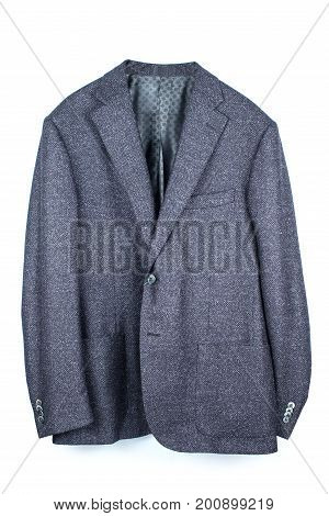 men's jacket isolated over a white background