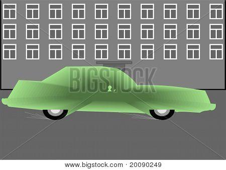 Abstract car.