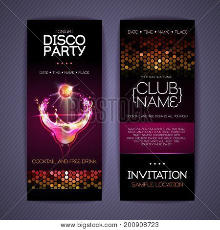Disco Corporate Identity Templates. Cocktail