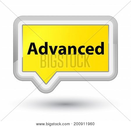 Advanced Prime Yellow Banner Button