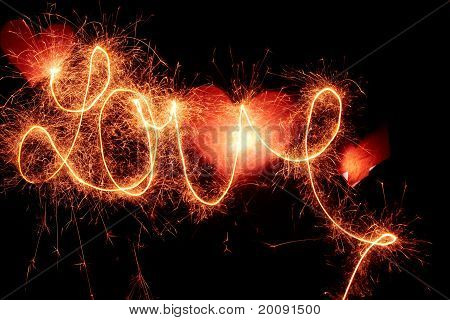 """Writing """"love"""" With Light"""