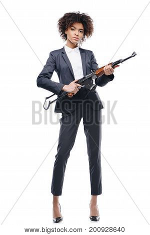 Secret Agent With Rifle