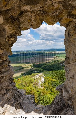 Ruins Of Medieval Castle