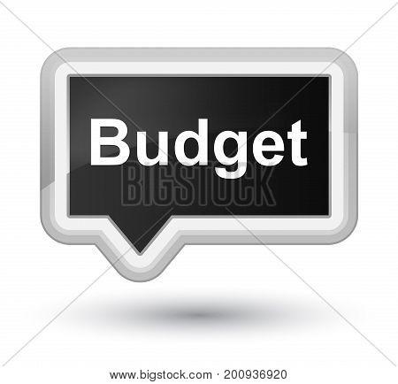 Budget Prime Black Banner Button