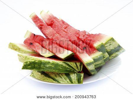 Sweet And Juicy Watermelon Photo