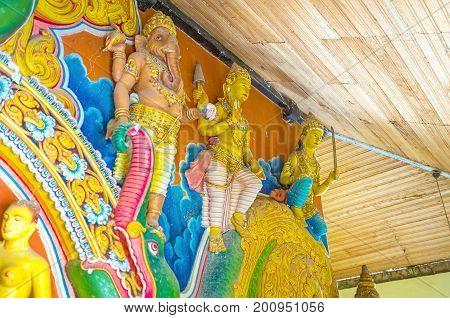 The Guard Of Dematamal Shrine