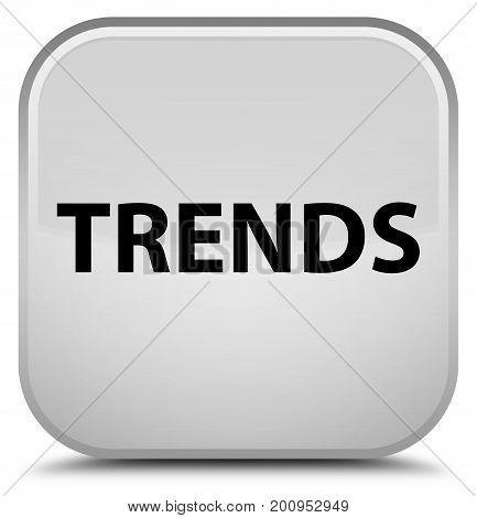 Trends Special White Square Button
