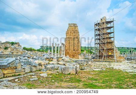 Archaeological Sites Of Antalya