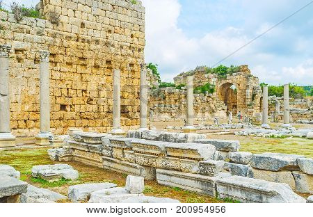 Architecture Of Perge