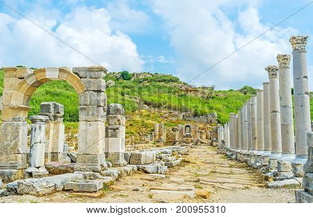 The Fountains Of Perge