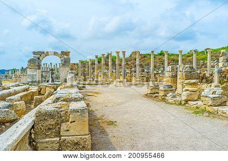 Anatolian City Of Perge