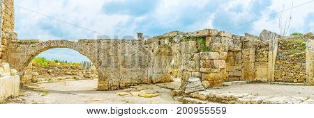 The Archaeological Site Of Perge