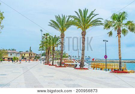 The Seaside Promenade In Side