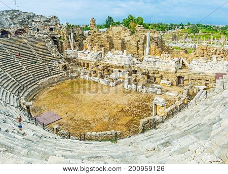 Theatron Of Side Amphitheater