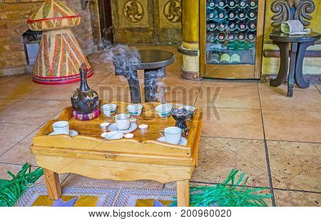 Visit Ethiopian Coffee Ceremony