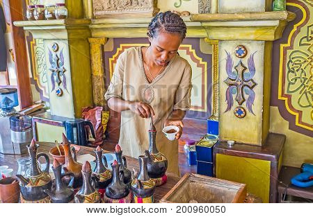 Tradition Of Ethiopian Coffee Ceremony
