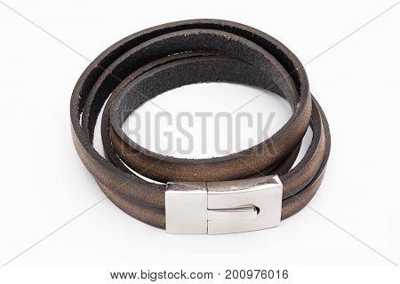 Fashion Bracelet Isolated On White Background.