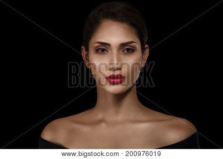Beautiful Asian Woman Portrait