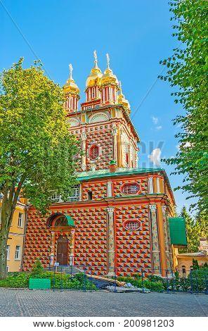 The Gate Church In Sergiyev Posad