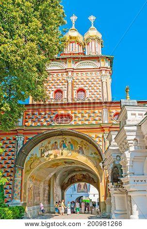 The Churches Of Sergiyev Posad