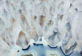 Beautiful Texture Of Gemstone Agate