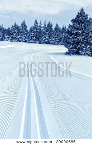 Track for Cross Country Skiing