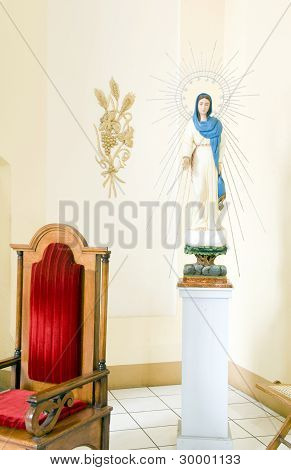 Statue Cathedral Of Granada Nicaragua