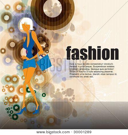 Fashion background concept