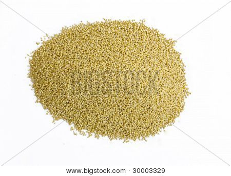 Pile of millet