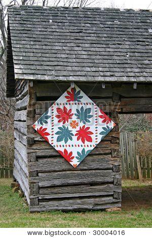 Oak Leaf Quilt Square