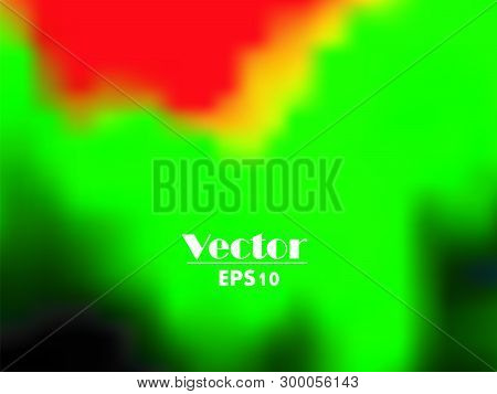 Vector - Gay Rainbow Gradient Mesh Blur Background
