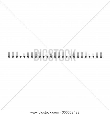 Realistic Iron Spiral Spring, Wire And 3d Realistic Notebook Bind Template.
