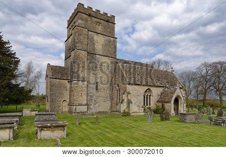 St Mary Magdelene Church, Tormarton, South Gloucestershire, Uk  Grade I Listed Norman Church