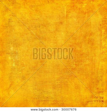 Grunge yellow background.
