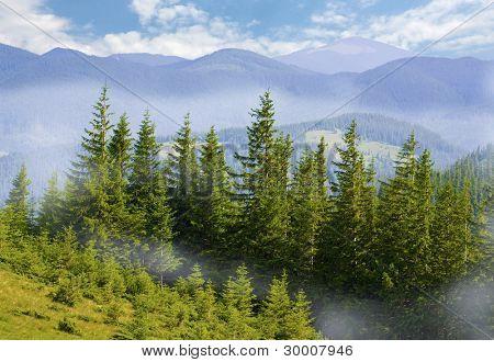 Nice mountain landscape