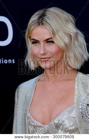 Julianne Hough arrives at the 2019 Billboard Music Awards at the MGM Grand Arena in Las Vegas, NV on May 1, 2019.