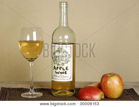 Home Made Apple Wine