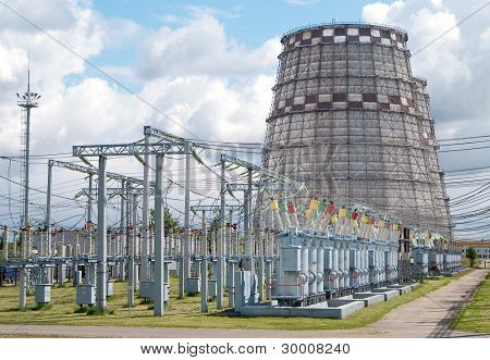 Electricity Power Plant Cooling Tower